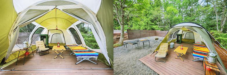デラックスキャンプテント