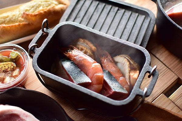 【冬期限定】アウトドア鍋
